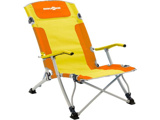 Brunner Bula XL Krzesełko, orange/yellow